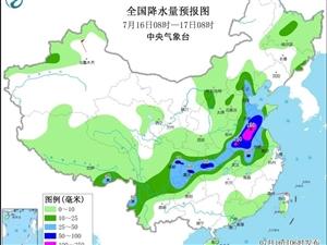 注意!或有较强台风,7-10月影响海南的热带气旋6-8个,近期全岛多阵雨或雷阵雨↓↓