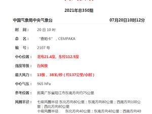 """最大13级!海南部分列车停运,台风""""查帕卡""""即将在这里登陆→"""