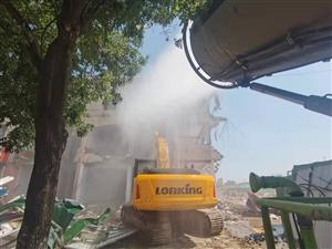 昨天,平邑对3户被征收房屋依法强制拆除!