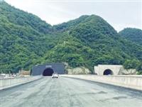 """省内第一长公路隧道9月底建成通车 河南""""最美高速""""颜值再提升"""