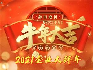 望江在线2021年商家大拜年视频