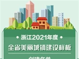 浙江公布新一批名单,庆元这个镇成样板,是你家乡吗?