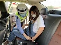 高速路上后排不系安全带也要罚!西安开展专项整治