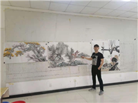 行稳致远海阔鱼跃 专访河南省美木家协会会员、优秀青年画家沈子瑞