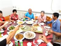 这一顿团圆饭 青州这家人等了59年