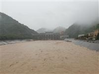 陕西多地强降雨 24条河流洪峰57次
