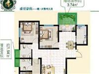 好楼层,全天采光,盛世豪庭3室2厅2卫85万元