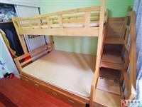低价出售9成新子母床