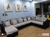 全新布藝沙發六件套3.35米