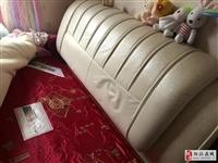 出售皮床(长2M、宽1.5M)+床垫