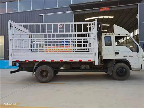 出售2012年9月底3米85排半原厂高栏货车
