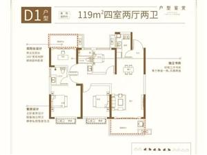 D1�粜�119m2四室��d�尚l