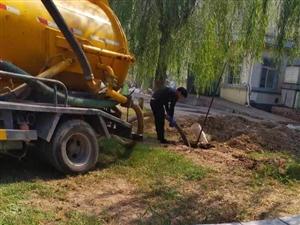郑州航空港区污水管道疏通清淤 清理化粪池 蛙人潜水