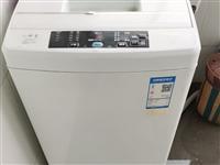 青州城区,出售9成新海尔波轮洗衣机一台,海尔空调一台