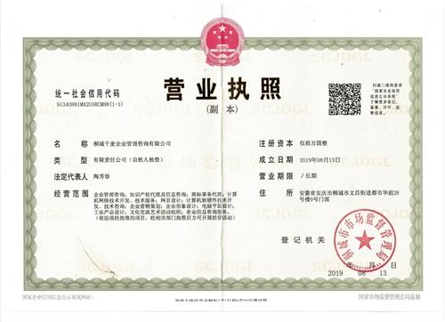 桐城千麥網絡科技有限公司