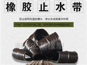宏基中埋式橡胶止水带 杭州中埋式橡胶止水带规格定制