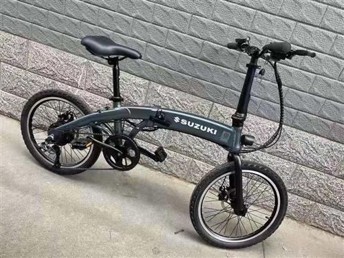 日本铃木锂电折叠自行车微信同号