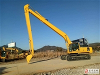 富平20米加长臂挖掘机租赁