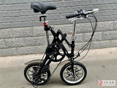 便宜出!普利司通14寸横向自行车折叠车!超便捷!