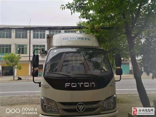 2021年11月份买的福田时代3.8米箱货