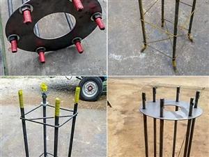 钢结构焊接预埋件地脚螺栓