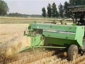 尋找合伙人,手里有兩臺打小麥秸稈捆機