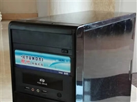 出售带光驱500G电脑主机