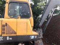 转让一台10年沃尔沃55挖掘机,车况精品
