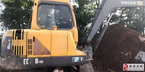 轉讓一臺10年沃爾沃55挖掘機,車況精品