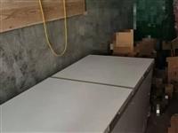 出售9成新美的商用卧式大容量冰柜423升冷冻冷藏
