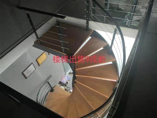 钢木旋转楼梯,高290 宽220,价格面议