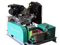 厂家高压水枪试压泵注水泵工业六缸柴油驱动清洗机定制