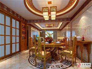 玉林东盛华府中式风格装修设计
