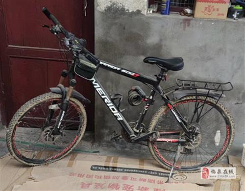 山地自行车变速越野减震单车