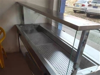 99成新的保温展柜,便宜出售,只通电用过一次