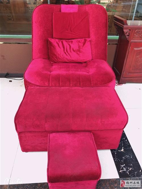 低价出售泡脚椅整套