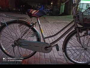 日本内三速自行车