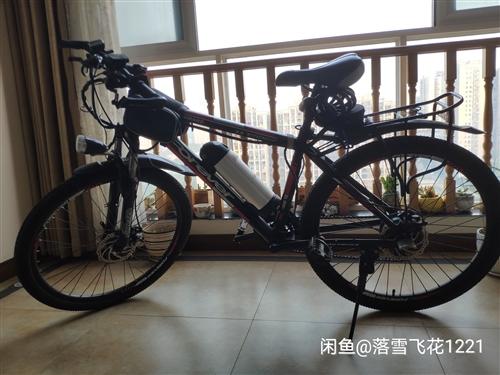 9成新26寸永久改装电动自行车,15年买的,平时拿来上下班通勤,中间去成都上班闲置了2年。前三后七共...