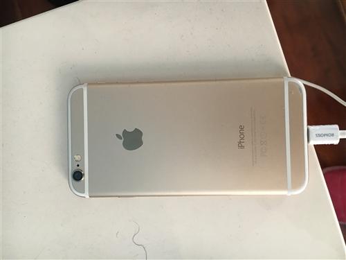 苹果6代。八成新