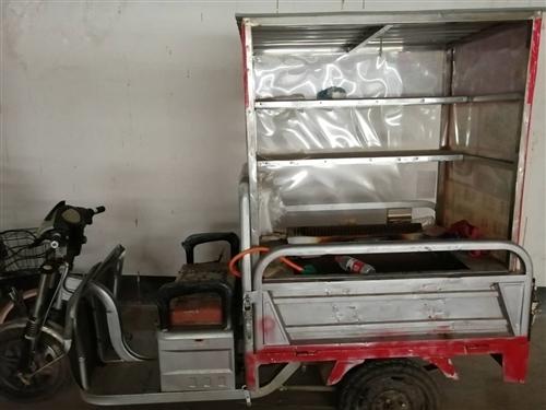 二手三轮小吃车,因上班没时间干了,特价转让,新电瓶,有需要的请联系15588161369。要小吃架子...