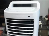 美的空调扇冷风扇电风扇大风量水冷蒸发10L水箱遥控AC120 -16AR