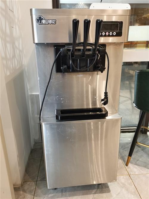 **冰激凌机,原价4950元,现价2000元,带冰淋粉,奶粉,蛋筒