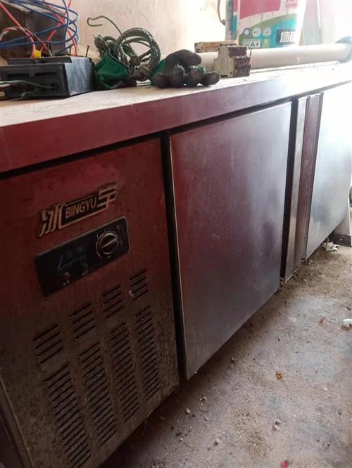 商用冰柜操作台超低价出售