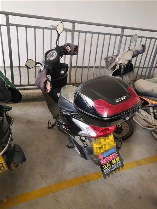個人鈴木瑞夢摩托車,一口價4500,原裝3000公里,125排量省油耐用,南島看車試車,電話1539...
