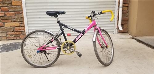 二手女式学生自行车转让,非变速,车况好,价格面议