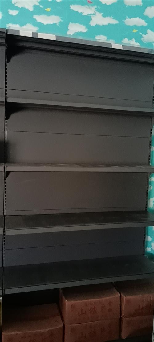 出售六组五层单体八层新货架,另出售货物展示台八组,超市收银机打印机验钞机等。价格面谈。