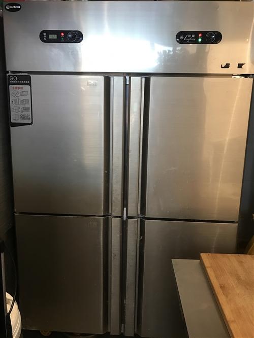 商用大冰柜 汤锅 煮面炉售卖九成新17703908160