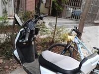 绿源品牌电瓶车,72v电瓶,购买3个月,起来500百公里,新车4268元,媳妇怀孕了不让她骑了,现在...
