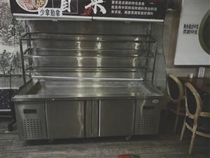 冒菜展示柜,八头砂锅灶