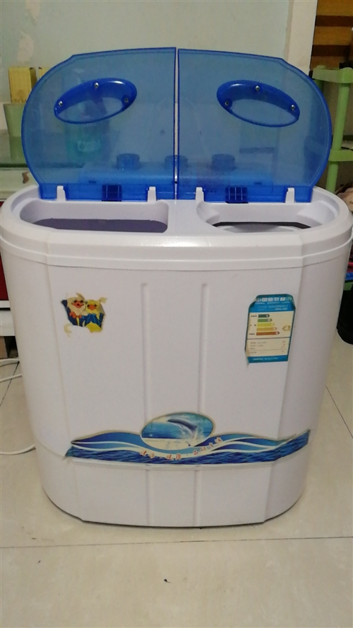 闲置小型洗衣机一个适合单身贵族和出租屋使用, 联系电话:13855826588